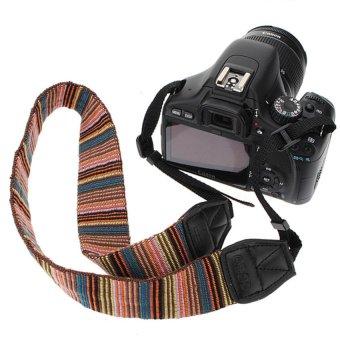 HKS Vintage Camera Neck Shoulder Sling Strap Belt For DSLR CANON EOS Nikon Panasonic