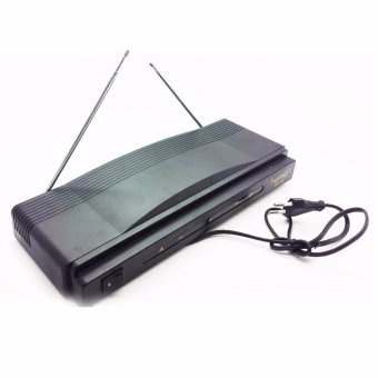 Homic HM-306 Microphone Double Wireless VHF Series
