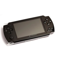 Hot Classic 8GB 4.3-Inch TFT Screen Mp4 MP5 Player Game Player Supports Psp Game Camera Video E-book Music (Black)