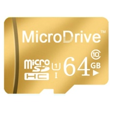Hot sell micro Memory SD/TF Card Calss 10 64GB (Gold) - intl