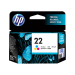HP 22 Tri Color Ink Cartridge C9352AA