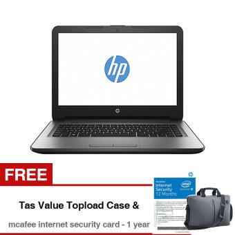"""HP Notebook 14-an028au - 14"""" - 4GB - AMD E2-7110M-Quad Core - Win10- Silver"""