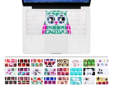 "HRH Blue Owl Silicone Keyboard Cover Keyboard Skin For Apple Macbook Air 11.6 11"" Inch A1465 A1370 US Layout"