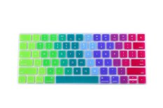 HRH Hot New Keyboard Cover Silicone Skin Protector Film For Apple Magic Keyboard MLA22B / A US Keyboard Layout (Multicolor) - Intl