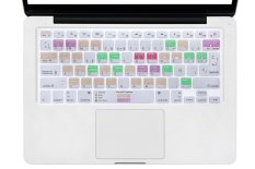 HRH Mac OS X Shortcuts Hot Keys Design Spanish Silicone Keyboard Skin Cover For Macbook Pro Retina Air 1.15 17