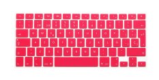 HRH Spanish Silicone EU Keyboard Cover Skin For Apple Macbook Pro Retina MAC 1.15 17 Air 13 (Pink)