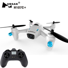 Hubsan H107C+ 2.4GHz 4CH 6-axis Gyro RC Quadcopter RTF Drone with 720P HD Camera - White