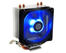 ID-COOLING SE-902X PWM CPU Cooler, High Cooling Performance With 2 Direct Touch Heatpipe, 92mm Fan, Blue LED