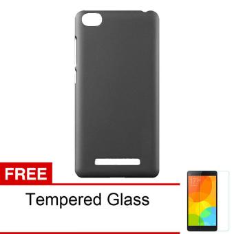 Harga Case Hardcase Series for Xiaomi Mi4I / Xiaomi Mi4c - Hitam + Gratis Tempered Glass