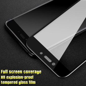 IMAK HD penuh cakupan pelindung layar anti gores untuk Xiaomi Redmi 4 X - hitam