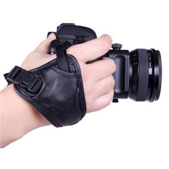 Imixlot Soft PU Leather DSLR Camera Wrist Strap Universal For Canon Nikon Sony Olympus