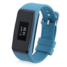 INCHOR Wristfit HR Bluetooth 4.0 Smart Wristband Heart Rate TrackWatch (Blue) - Intl