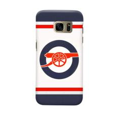 Indocustomcase Arsenal FC AFC07 Casing Case Cover For Samsung Galaxy S6 Edge