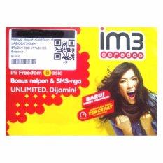 Indosat im3 ooredoo 4G LTE 0815 855 16 333 kartu perdana nomor cantik