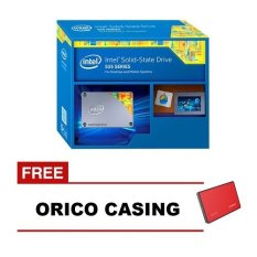 Intel SSD 535 Hard Disk [240 GB / 2.5 Inch / 16nm / MLC / SATA 6Gb / S] - Free Orico Casing