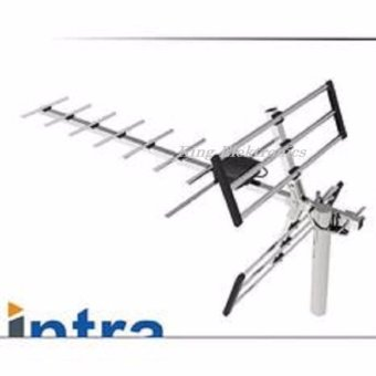 Intra HM-003 Antena Digital TV LCD/LED Outdoor Aluminium Series -Silver