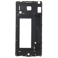 IPartsBuy Front Housing LCD Frame Bezel Plate Replacement For Samsung Galaxy A5 / A500 (Black)
