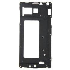 IPartsBuy Front Housing LCD Frame Bezel Plate Replacement For Samsung Galaxy A7 / A700 (Black)