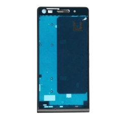 IPartsBuy Front Housing Screen Frame Bezel Replacement For Huawei Ascend G6 (Black)