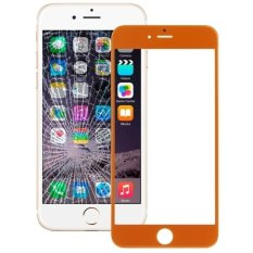 IPartsBuy Front Screen Outer Glass Lens For IPhone 6 Plus (Orange)