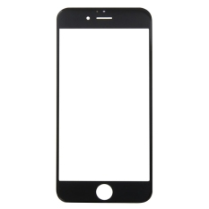 IPartsBuy Front Screen Outer Glass Lens For IPhone 6S Plus (Black)