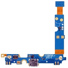 IPartsBuy USB Charging Connector Port Flex Cable and Microphone Flex Cable Replacement For LG Optimus F6 / D500 / D505 (Blue)