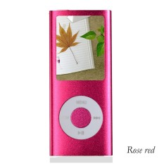 IPod Mp3 Player Mp4 Player + Free 8GB Miro Card + Free Earphone (Rose Red)