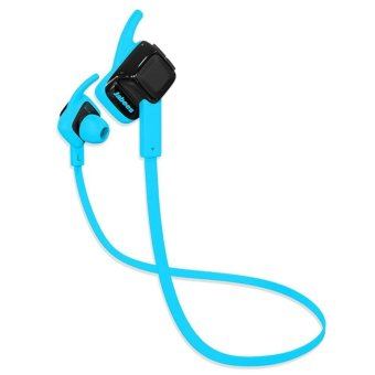 Jabees Beating Bluetooth 4.1 In-ear Stereo Sport Headset With Microphone Support Handsfree Call Waterproof (Blue)