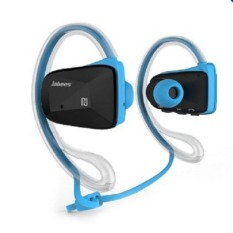Jabees BSport Sports Waterproof / Sweatproof NFC Bluetooth V4.0 Headphone Headset - Biru