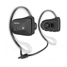 Jabees BSport Sports Waterproof / Sweatproof NFC Bluetooth V4.0 Headphone Headset - Hitam