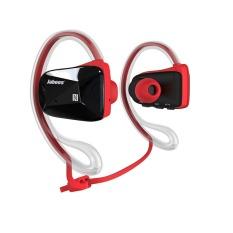 Jabees BSport Sports Waterproof / Sweatproof NFC Bluetooth V4.0 Headphone Headset - Merah