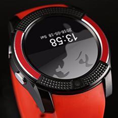 Jam tangan olahraga asli layar penuh jam pintar V8 untuk Android Smartphone yang mendukung kegiatan disebut TF kartu SIM Bluetooth jam pintar PK GT08 U8 - International