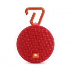 JBL Clip 2 Bluetooth Speaker - Red