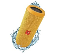 JBL Flip 3 Splashproof Portable Bluetooth Speaker - Yellow