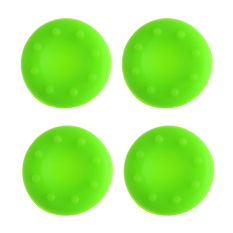 Jettingbuy Analog Controller Thumbstick Cap Cover For PS4 XBox One Green 10 Pcs