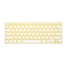 Apple Mac-book Air / Mac-book Pro JH Silicone Keyboard Cover Skin 13 Inch (Yellow Box) (Intl)