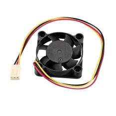 Jo.In Computer Laptop PC CPU Cooling Case Fan Cooler 40*40*10mm 12V 3 Pin Black - Intl