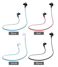 GE Wireless Bluetooth 4.1 Headphones Sport Stereo Music Headsets Studio Earphones with Microphone (White) (Intl)