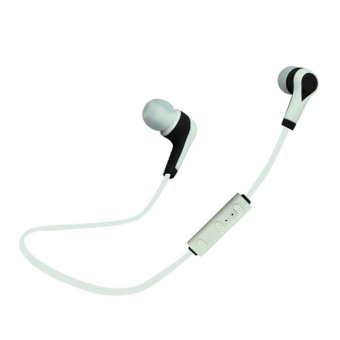 Kabel headphone Bluetooth headset musik olahraga (putih) - International