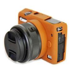Karet silikon lembut kamera pelindung tubuh pelindung penutup tas kulit untuk Canon EOS M10 EOSM10 (