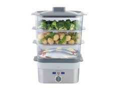 Kenwood FS620 Food Steamer 2KW Boost Die Cast - Silver