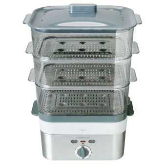 Kenwood FS620 Food Steamer - Abu-abu