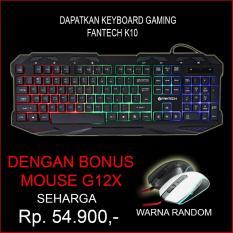 Keyboard Fantech k-10 free mouse G12x random