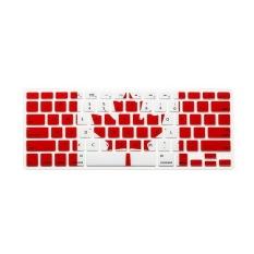 Apple Mac-book Air / Mac-book Pro Keyboard Protector 17 Inch (Canadian Flag) (Intl)