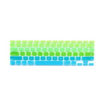 Keyboard Protector 17 Inch For Apple MacBook Air MacBook Pro (Gradient Green) - Intl