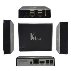 KI Plus K1 Plus Amlogic S905 Quad Core 64Bit Android TV Box 4K Android 5.1 OS KODI 15.2 H.265 HDMI 2.0 WIFI 1G RAM 8G ROM-UK- INTL