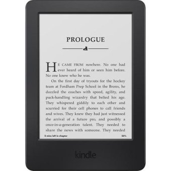 Kindle, 6″ Glare-Free Touchscreen Display, Wi-Fi – Ads Version