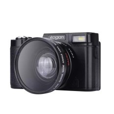 Kogan 24MP Kamera Mirrorless FHD 1080P Video 3 Inci LCD Wide Lens LF748