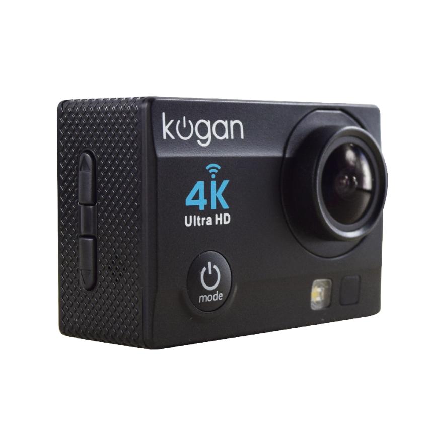 Kogan Action Camera 4K UltraHD - 16MP - Hitam - WIFI