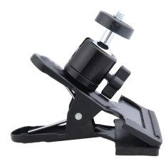 KUNPENG Multi-function Spring Clamp With Ball Socket Head ForStudio CameraFlash